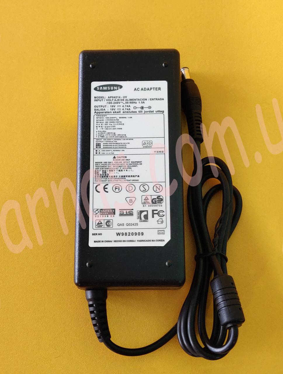 Блок питания Samsung 19V 4.74A (5.0 * 3.0)