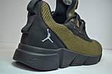 Чоловічі кросівки хакі Jordan 2163/146, фото 2