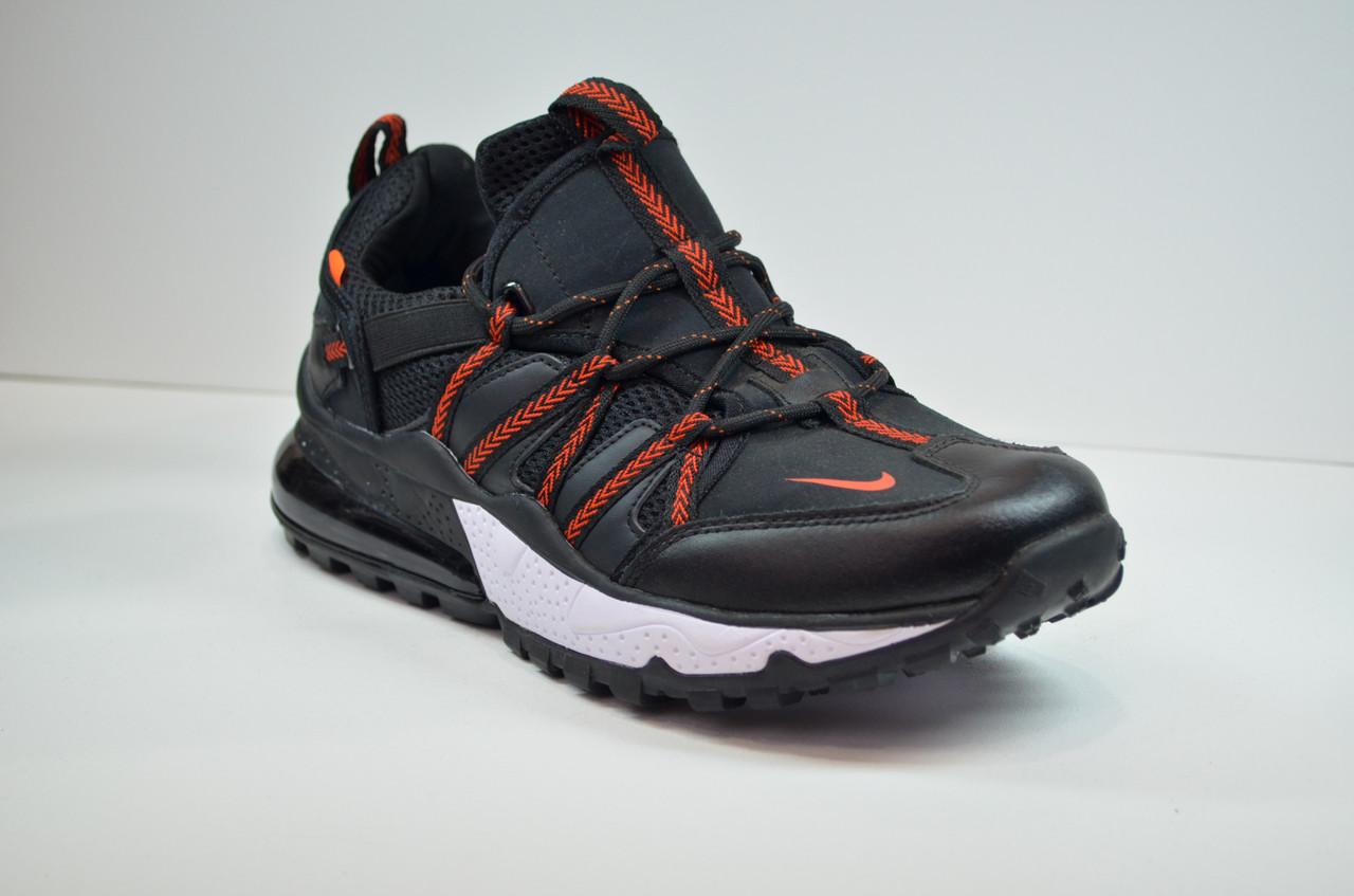 Чоловічі кросівки чорні з червоним Nike 1170 - 4