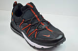 Чоловічі кросівки чорні з червоним Nike 1170 - 4, фото 3