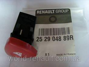 Renault (Origial) 252904889R - Кнопка аварийной остановки на Рено Трафик II с 2001г.