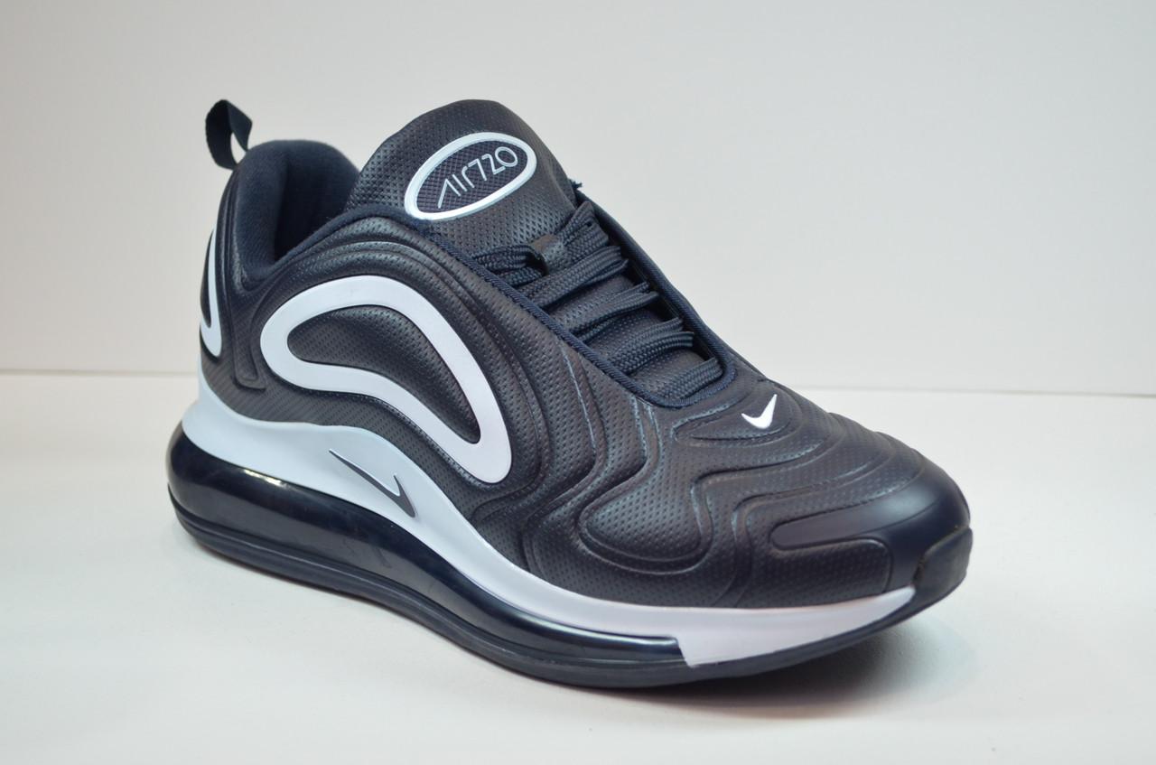 Чоловічі кросівки сині з білим Nike 720 (1913 - 9)