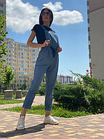 Женский льняной комбинезон Poliit 5235