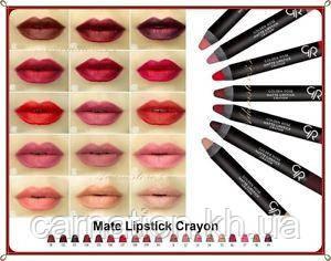 Помада карандаш для губ Golden Rose Matte Crayon Lipstick
