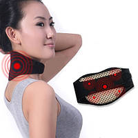 Турмалиновая накладка бандаж на шею с магнитами