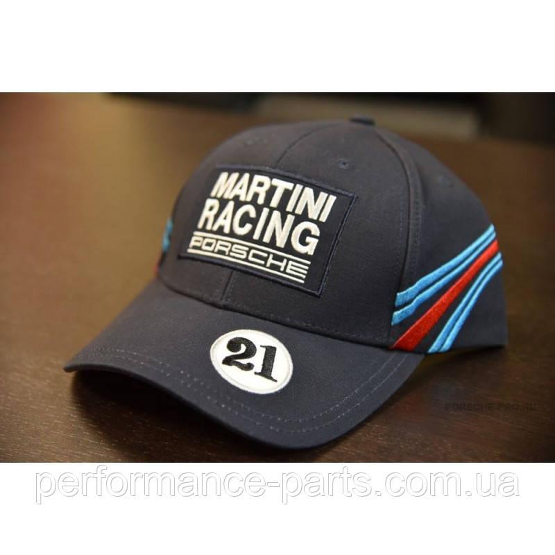 Бейсболка Porsche Baseball Cap Martini Racing, Dark Blue, артикул WAP5500010J