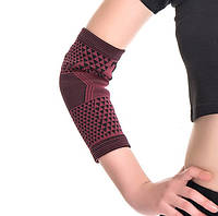 Эластичные налокотники с турмалином от боли в локтевом суставе, 1 пара