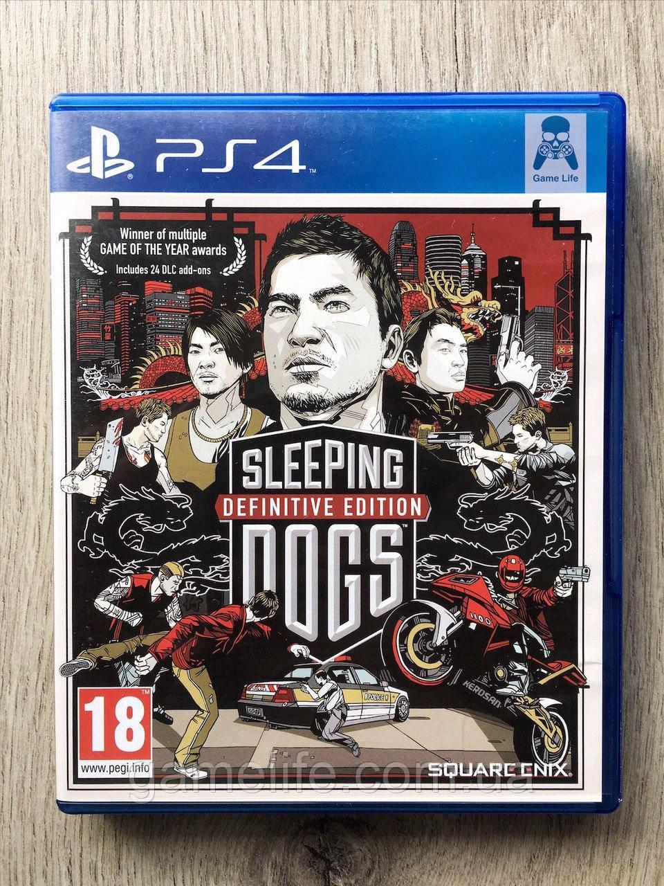 Sleeping Dogs (рус. суб.) (б/у) PS4