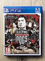 Sleeping Dogs (рус. суб.) (б/у) PS4, фото 1