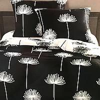 """""""Одуванчики"""" Постельное белье Elway Premium евро размер 200*220 см,ткань сатин 100% хлопок"""