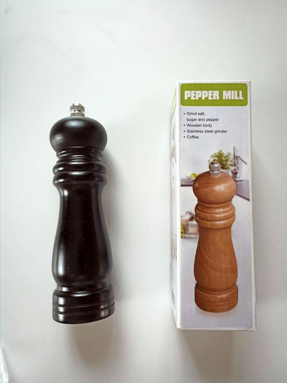Перцемолка Pepper Mill черная мельница для перца