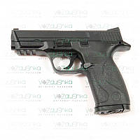 Пневматический пистолет kwc km-48 dhn metal slide smith & wesson, фото 1