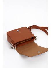 Сумка крос-боді David Jones 6272-2 коричневого кольору, фото 2