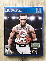 UFC 3 (рус. суб.) (б/у) PS4