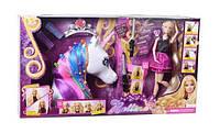 Ігровий набір для дівчаток «Лялька голова для зачісок».