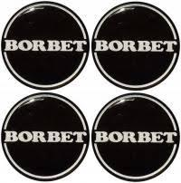 Наклейка BORBET 50mm