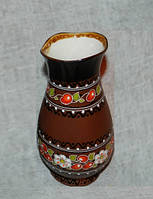 """Ваза маленька """"Кераміка Вишенька"""" (глиняний посуд для молока)"""