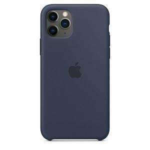 Чехол Silicone case Iphone 11 Темно - синий
