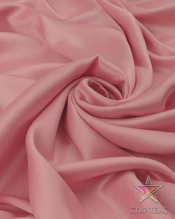 Ткань Атлас Королевский (стрейч плотный) Светло-персиковый, фото 2