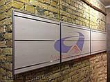 Панель для магазина, экспопнель, сосна H=2440мм, W=900мм, шаг 100мм, 23 паза, без вставок, фото 3