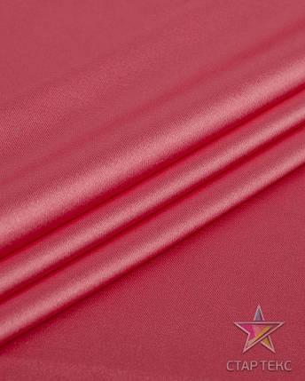 Ткань Атлас Королевский (стрейч плотный) Коралловый, фото 2