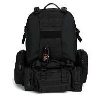 Рюкзак рейдовий Silver Knight Чорний RT-213 (55 літрів)