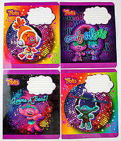 Комплект зошитів Міцар скоба 18 арк лінія Серія Тролі 20 шт 288626, КОД: 901872