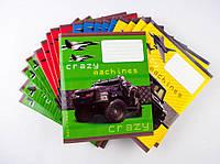 Комплект зошитів Міцар скоба 24 арк лінія Серія Crazy machines 20 шт 251597, КОД: 902303