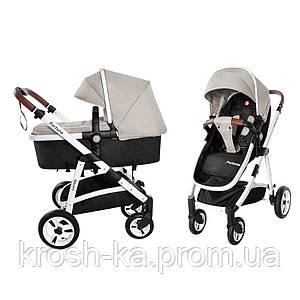 Детская коляска-трансформер Fortuna 2в1 Carrello Китай Peanut Beige 9001/1