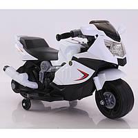 Электромобиль детский  Мотоцикл 6V4AH мотор 1*12W86*44*52\1 Tilly Китай белый T-7215