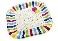Набор одноразовых тарелок Duni 10 штук Разноцветный R2-44001301, КОД: 1705022