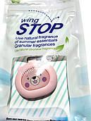 ЕКО кліпса від комарів і мошки, Оригінал Wing Stop для захисту від укусів комах Ведмедик рожевий