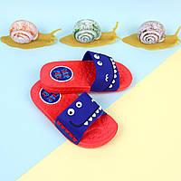 Шлепки для детей Зубастики пляжная обувь тм GIOLAN размер 26,27,28,29,30,31,32,33,34,35