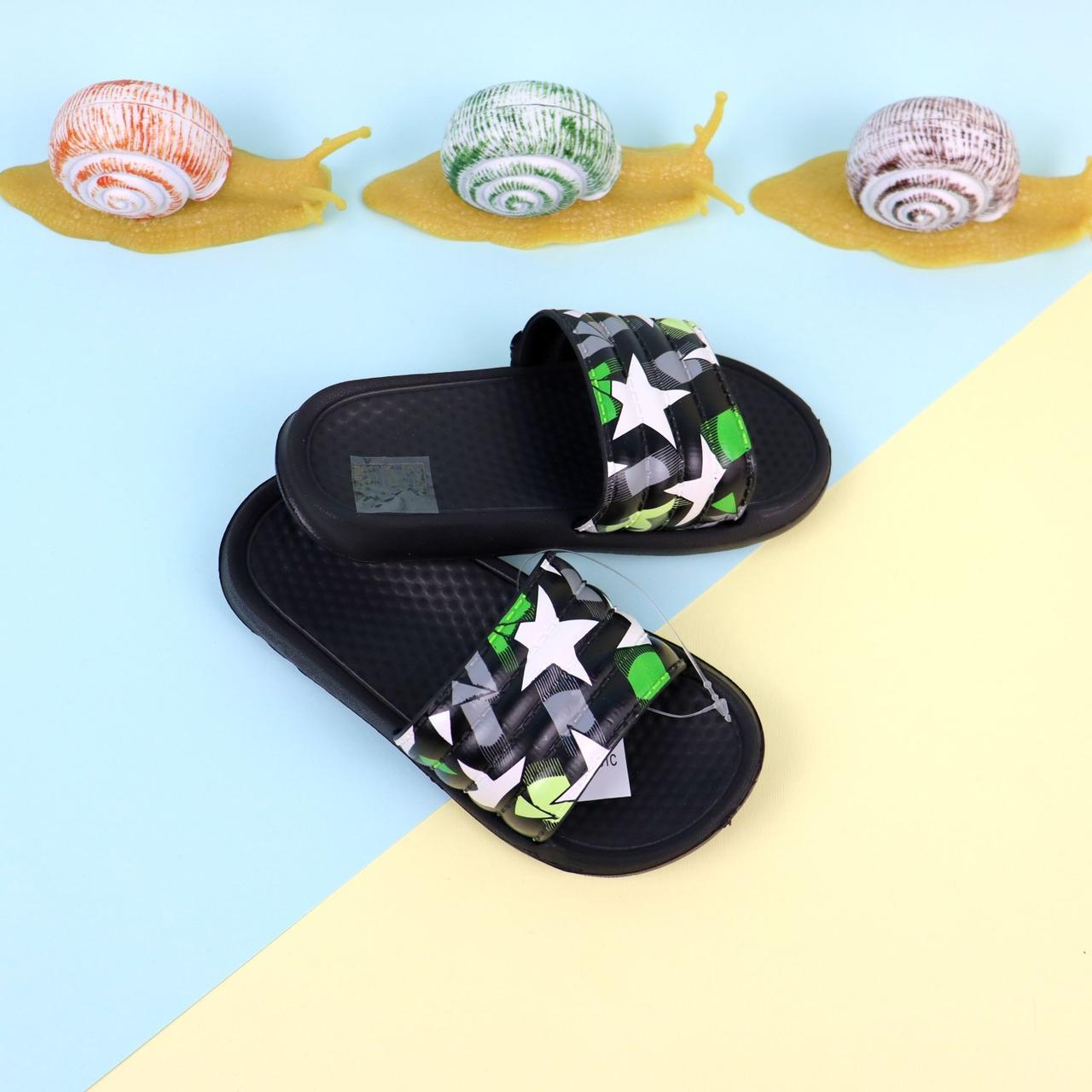 Шлепки для детей Звезды пляжная обувь тм GIOLAN размер 24,25,26,27,28,29,30,31,32,33,34,35