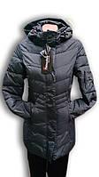 Пальто женское горнолыжное WHS. Черное. 6032