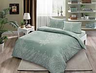 Набор постельного белья TAC Harper Mint (двуспальный евро)