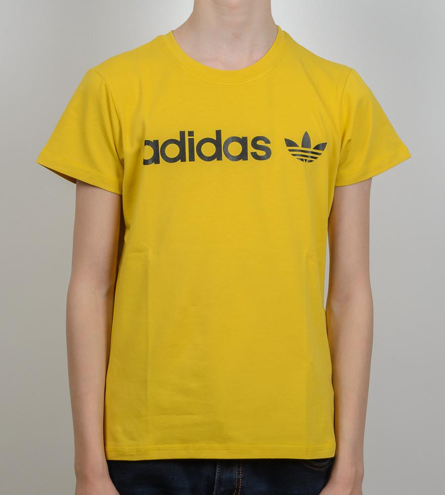 Футболка підліткова Adidas (2017п), Гірчиця