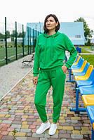 """Жіночий спортивний костюм """"Damali"""" зелений"""