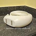 Настольный мини вентилятор портативный DianDi Circle Вентилятор аккумуляторный 2 скорости, фото 6