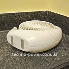 Вентилятор портативный DianDi Circle настольный. Вентилятор аккумуляторный 2 скорости, фото 6