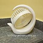 Вентилятор портативный DianDi Circle настольный. Вентилятор аккумуляторный 2 скорости, фото 4