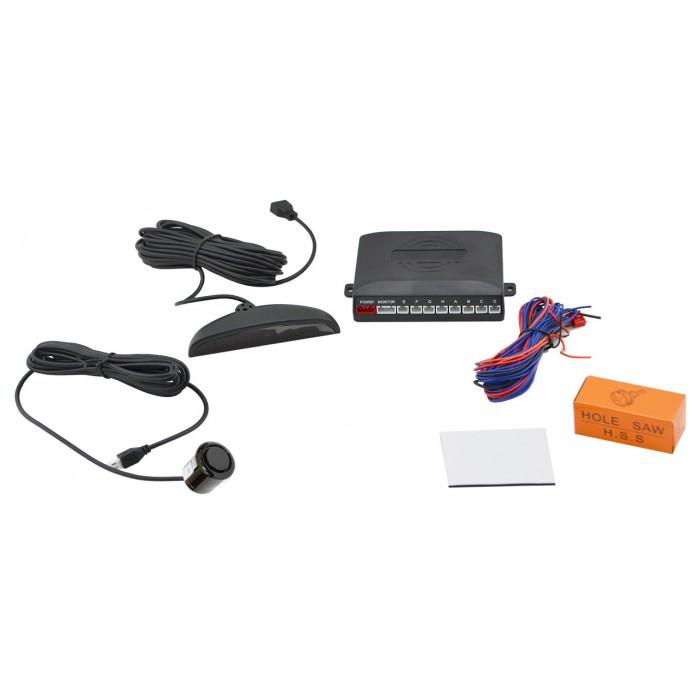 Парктроник автомобильный UKC на 8 датчиков + LCD монитор (черные датчиНет в наличии 6