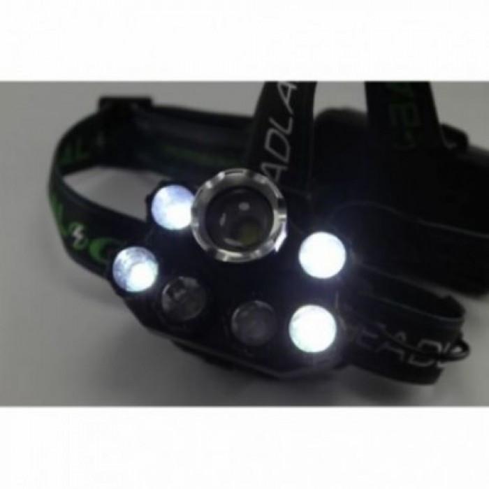 Налобный фонарь BL POLICE BL-T76 158000W T6 фонарик 1700 Lumen + УФНет в наличии 3
