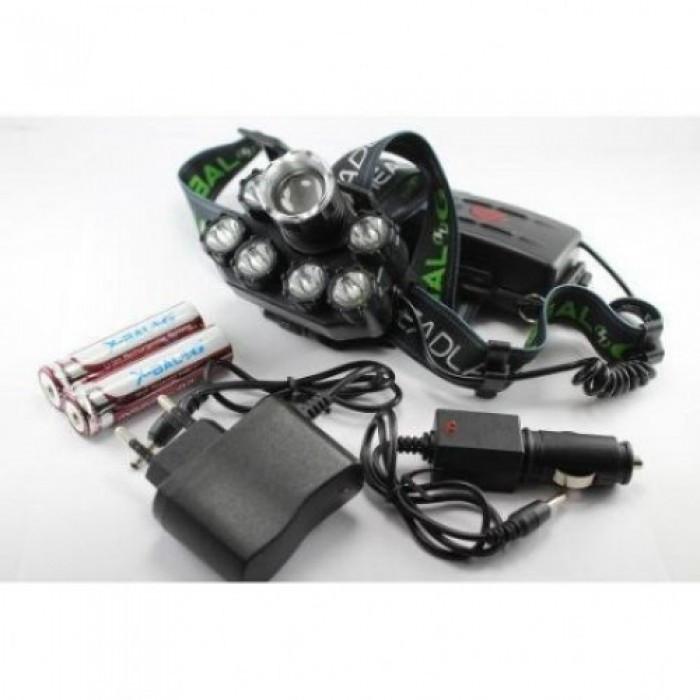 Налобный фонарь BL POLICE BL-T76 158000W T6 фонарик 1700 Lumen + УФНет в наличии 6