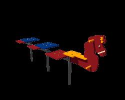Детская лавочка Конёк Kidigo