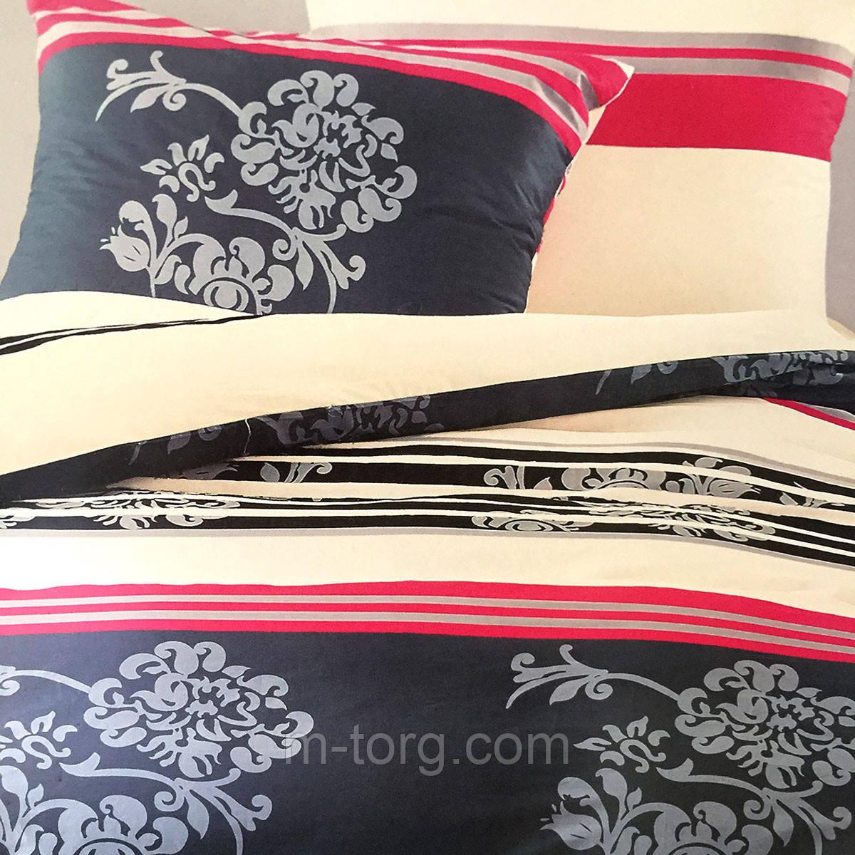 """""""Узоры"""" Семейный комплект постельного белья Elway Premium,ткань сатин 100% хлопок"""
