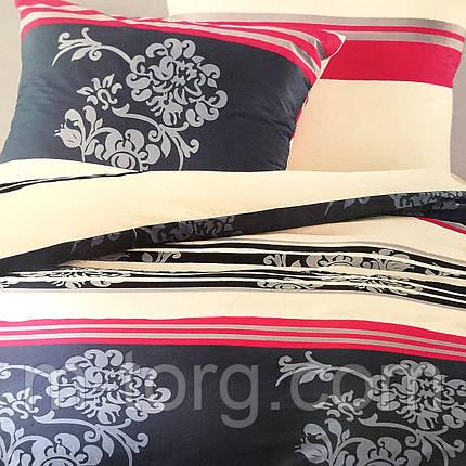 """""""Узоры"""" Семейный комплект постельного белья Elway Premium,ткань сатин 100% хлопок, фото 2"""