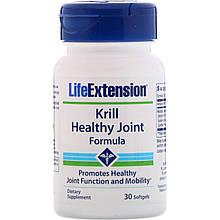 "Масло кріля для здоров'я суглобів Life Extension ""Krill Healthy Joint Formula"" 353 мг (30 капсул)"