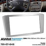 Переходная рамка AWM Toyota Avensis (781-07-048), фото 6