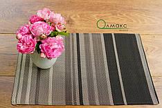Сеты, салфетки, подставки под тарелки моющиеся под столовые приборы с узором ромбы, серветка сервірувальна